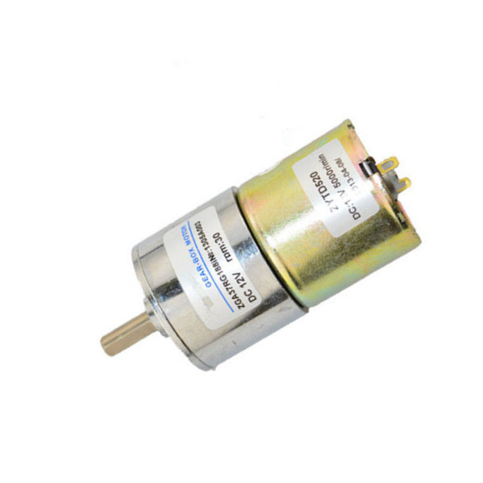 1PCS 12V DC 300 RPM High Torque Gear Box Electric Motor Hot NEW