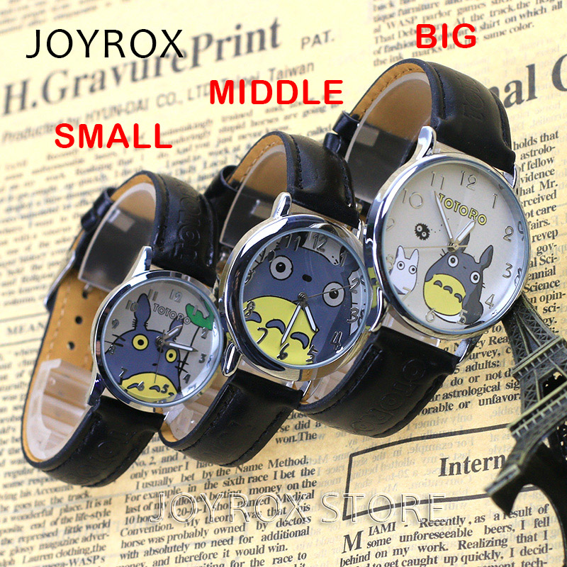 JOYROX Fashion Totoro Pattern Lovers Polshorloge Hoogwaardige lederen - Dameshorloges - Foto 4