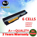 Wholesales New 6 CELLS laptop battery for lenovo IdeaPad S10-3 S10-3c S100 S205 U160  L09C3Z14 L09C6Y14 L09M3Z14  Free shipping
