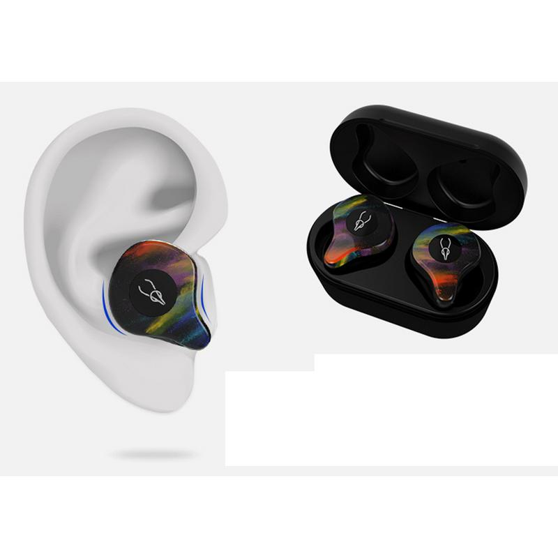 Tws Bluetooth 5.0 Earphone Waterproof Mini Wireless Earbuds heavy bass Stereo sound portable Earphone For Phone with charging купить в Москве 2019