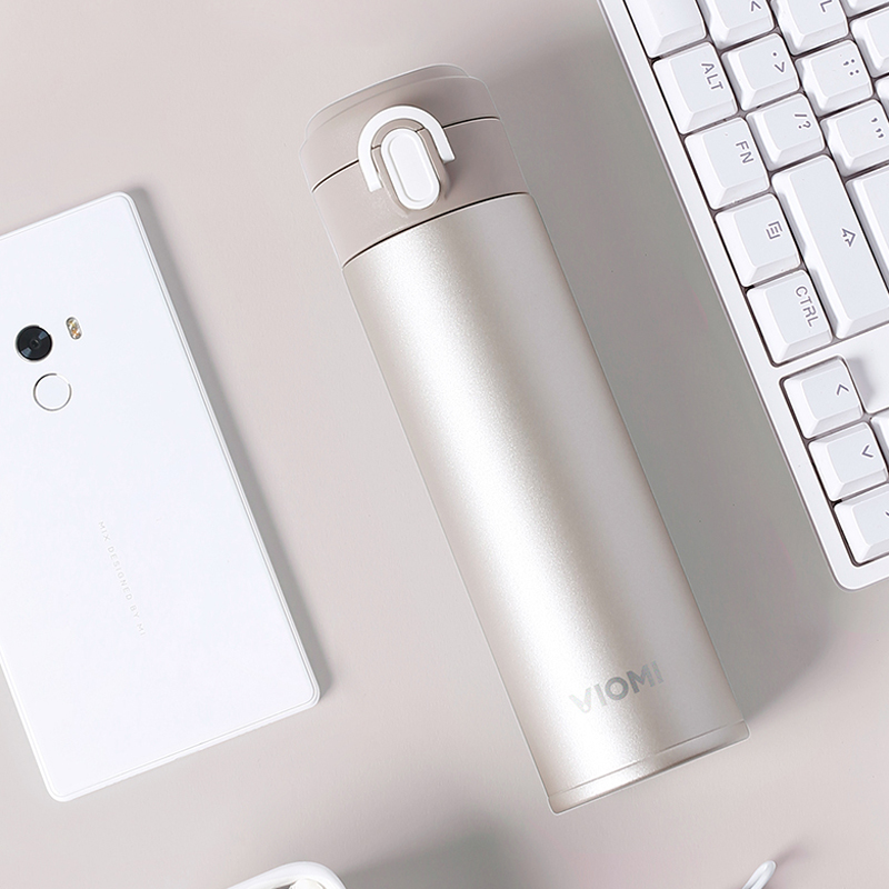 Xiaomi VIOMI Portable Vacuum Thermos 300ML460ML Lightweight Alloy Material 24 Hours Thermos Single Hand ONClose for coffee (24)