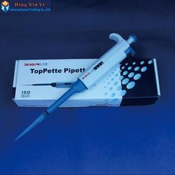 Free Shipping Brand New Single Channel Manual Adjustable TopPette Pipette Pipettor Pipet,buy one get 100 tips