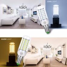 цена на E14 LED Corn Bulb E27 Led Lamp 220V Candle Bulb Lampara Led Light Energy Saving 3W 5W 7W 12W 15W 18W Chandelier Lighting SMD5730