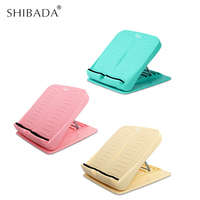 SHIBADA Folding Stool Pull Ribs Fitness Pedal Home Stretch Standing Rib Board Rehabilitation Workout Gym Equipment Accessory
