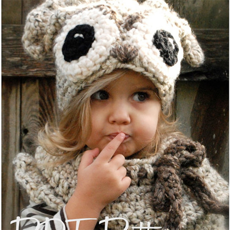 Kid Girl Fashion Cute Bomber Hat Christmas Gift