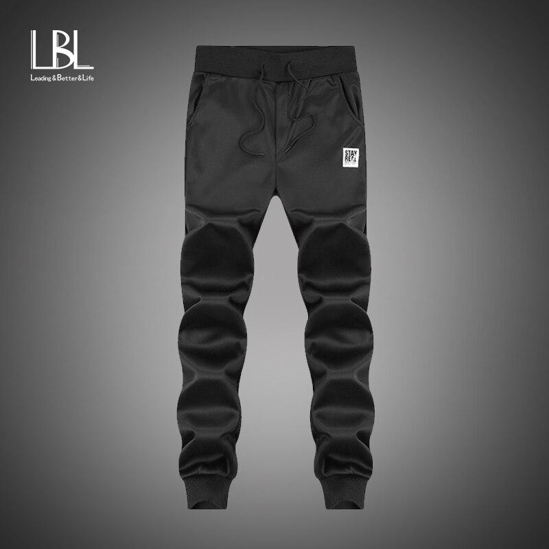 New Fashion Men Gyms Cotton Men Pants High Quality Cotton 2018 Mens Joggers Casual Sportpants Homme Comfortable Loose Sweatpants