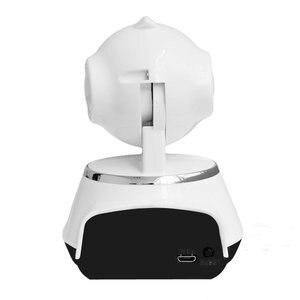 Image 5 - 2017 กล้อง IP ไร้สาย WIFI 720P กล้องวงจรปิดระบบรักษาความปลอดภัยภายในบ้าน Micro Sd สนับสนุน Microphone & P2P APP ฟรีพลาสติก ABS