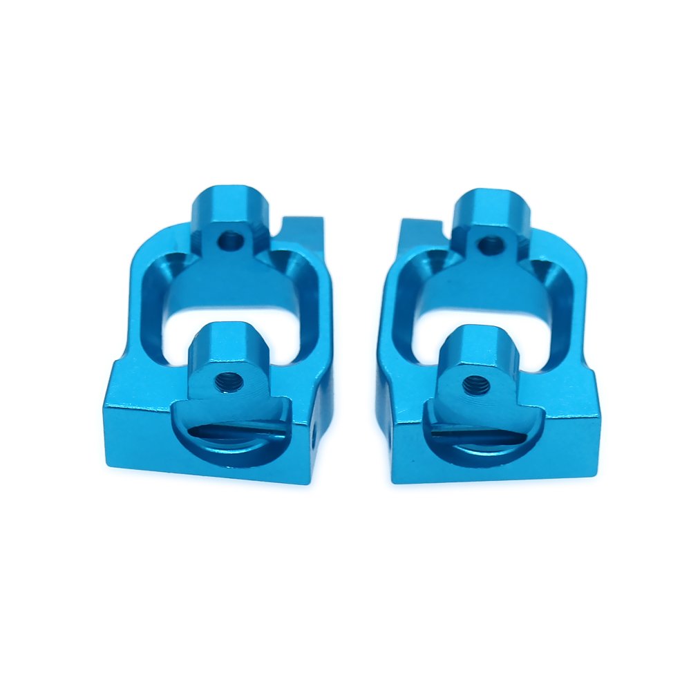 2PCS Alloy Aluminum Front C Hub Carrier For Rc Hobby Model Car 1/14 Lc Racing Full Series Front Hub Carrier BE6038 RCAWD 1 5 1 6 traxxas x maxx caster blocks front c hub carrier left right for rc hobby car 7732 brushless electric monster truck