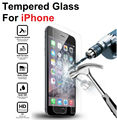 High Clear Explosion-proof Front LCD Tempered Glass Film For iPhone 4 4s 5 5s 5c se 6 6s 7 Plus Screen Protector