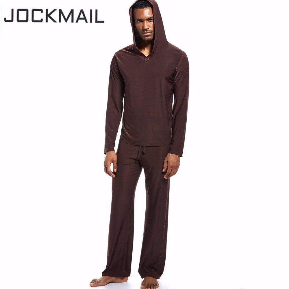 JOCKMAIL Marque Hommes costume de sport de yoga ensemble Vertical lisse glace Confortable respirant Running fitness gym gay hommes de sport