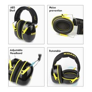 Image 2 - UVEX K2 عازلة للصوت غطاء للأذنين الحد من الضوضاء 32dB SNR قابل للتعديل عقال العمل الصناعي النوم السفر عازلة للصوت