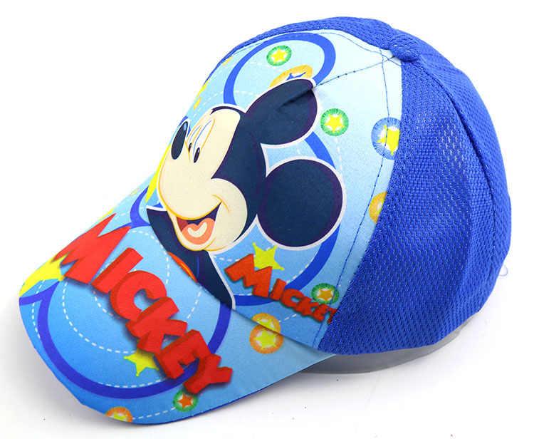 Весенне-летняя Детская кепка Snapback для мальчиков и девочек, аниме мультфильм с покемоном Супермена, hello kitty, Микки, бейсбольные кепки