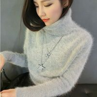 Short sleeved sweater mink mink cashmere cashmere coat thickening wholesale FREE SHIPPING