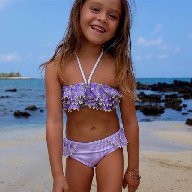 Girl small bikini