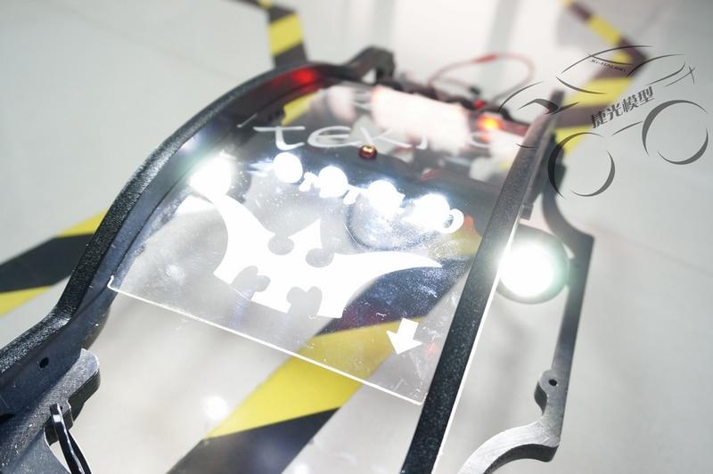 Super lumière LED phare + lumière latérale + feu arrière 10 pièces pour Tekno MT410 QL roll cage-in Pièces et accessoires from Jeux et loisirs    2