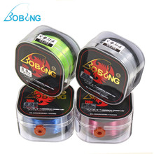Bobing 200M Japan Monofilament Fishing Line 5lb-35lb Nylon Fish String Wires Saltwater Freshwater Rope Cord with Outer Box