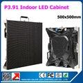 Новое поступление P3.91 из светодиодов табло крытый из светодиодов жк-видео стены 0.5 x 0.5 м die пазлы-литой алюминиевые ящики