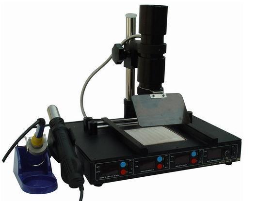 220V Infrared BGA desoldering station T862D+ preheating stations heat gun soldering iron multifunction welding machine tools 1PC