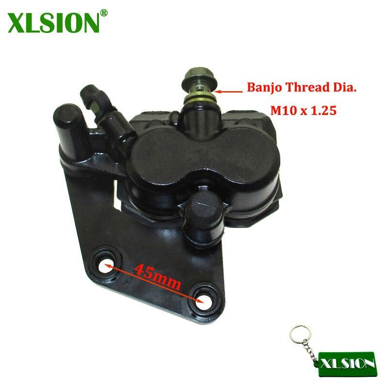 XLSION передний гидравлический дисковый тормозной суппорт для китайского 50cc-190cc Thumpstar Atomic Pitpro Pitster Pro DHZ SSR Piranha Pit Dirt