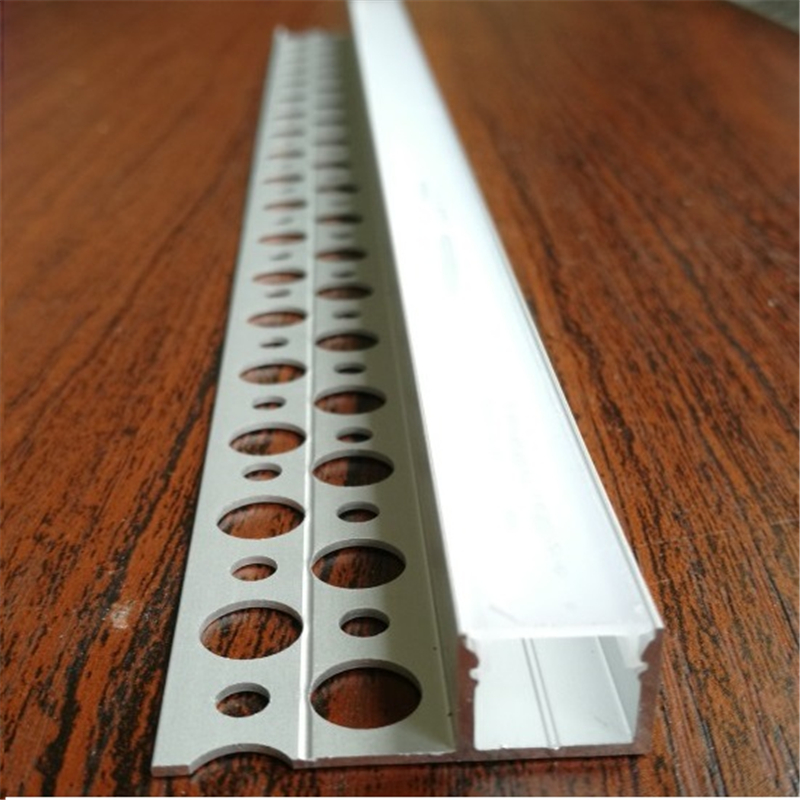 5-30pcs/lot 40inch Embedded Led Aluminium Profile ,10mm Strip 1 Side Built In Flat Edge Invisible Linear Channel For Wall /ceil