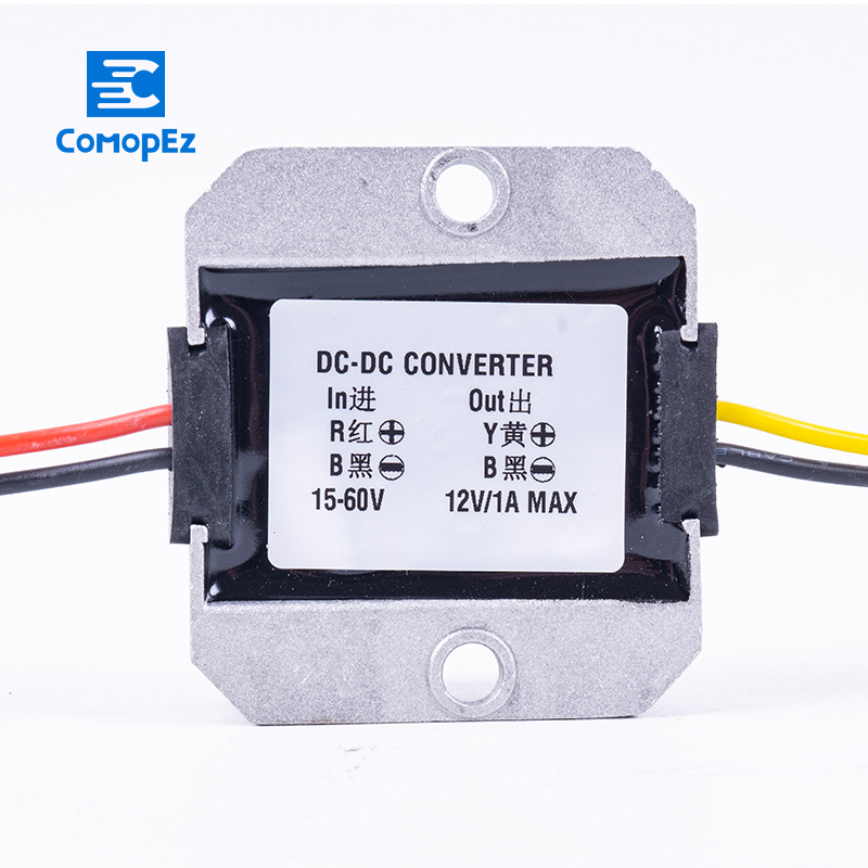 DC DC Converter 15-60V to 12V 1A 2A 3A Step Down Converter 15-60V to 12 Volt Voltage Regulator for Cars Solar DC 12V converterDC DC Converter 15-60V to 12V 1A 2A 3A Step Down Converter 15-60V to 12 Volt Voltage Regulator for Cars Solar DC 12V converter