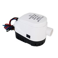 1100GPH DC 12V Automatic Bilge Pump For Boat With Auto Float Switch Submersible Electric Water Pump