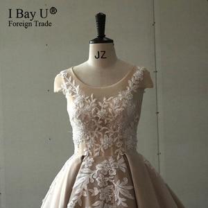 Image 5 - Luxury Long Sleeve Arabic Ballgown Wedding Dress