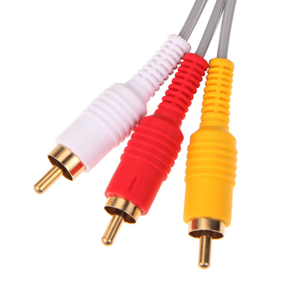 1,8 mt Audio Video AV Kabel Spielkonsole Verbund 3 RCA Video Kabel ...