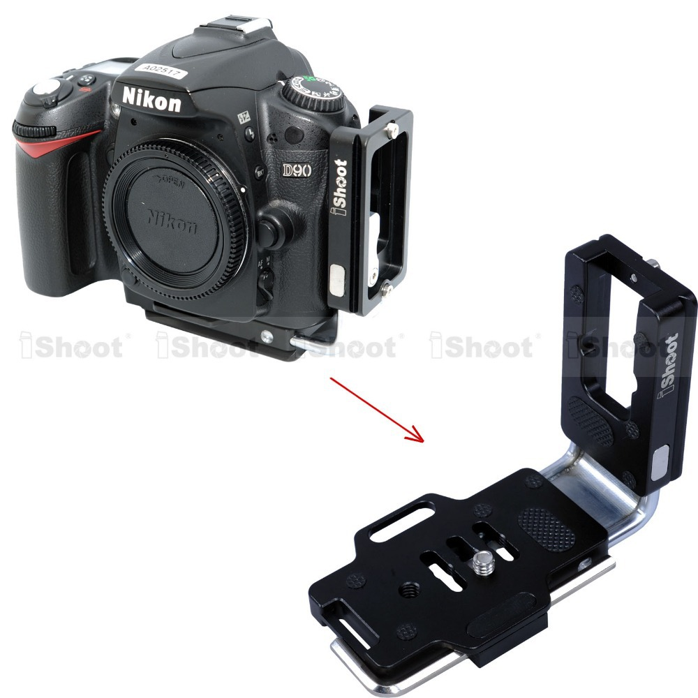 MPU-100 L Plate Bracket Halterung Schnellwechselplatte Für DSLR Kamera