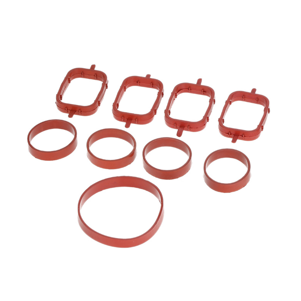 Car Style 4/6 PCS Intake Manifold Gaskets Inlet Repair Kits for BMW 320d 330d 520d 525d 530d 730d