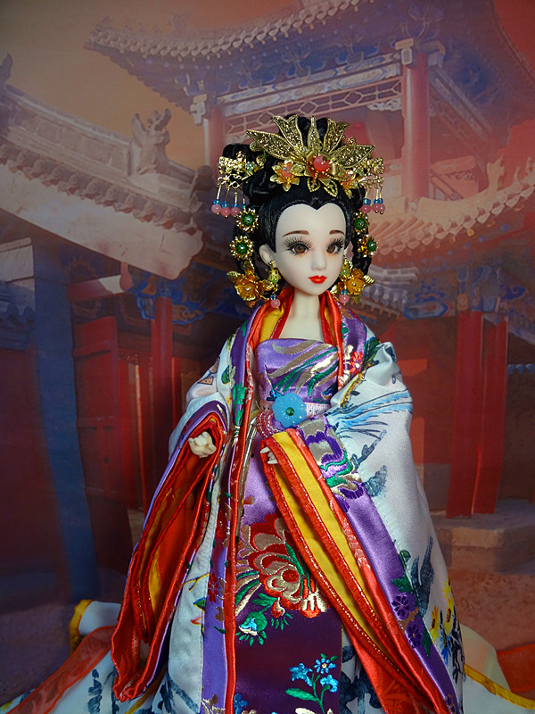 Free Shipping 14/35CM Chinese Dolls Including Joints Body Makeup Clothes Pretty Princess Doll Perfect Girls Toys Birthday Gifts 35cm collectible chinese dolls ancient costume summer girl dolls with 12 joints movable vintage season series bjd doll toys gift