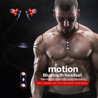 2017 YTOM Bluetooth Headset Wireless Headphones Earphone CSR 4 Speaker Jack Bass Bluetooth Earphone Sport Earbuds