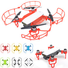 three in 1 Drone Protector for DJI Spark Drone Propeller Guard + Extension Touchdown Gear + Finger Hand Fence Protector