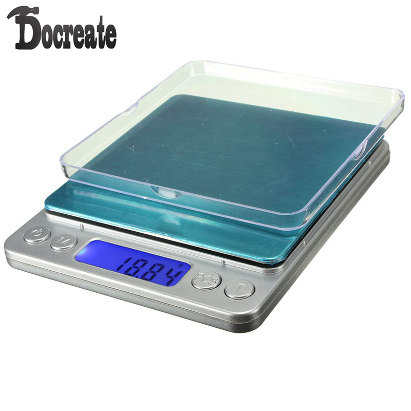 500g 0.01g LCD Electronic Digital Mini Pocket Scale Jewelry Diamond Coin Gram Balance  10x 116x64x17mm silver plastics 100g x 0 01g mini digital jewelry pocket scale lcd