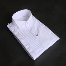 New Arrival Boy Cotton Shirts Custom Made  Children Wedding/Dinner/Evening Long Sleeve Kid Shirt CS25