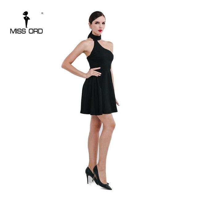 Missord 2017 Sexy  round neck sleeveless dress  FT4741