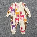 Ребенка Комбинезон Мальчики Девочки одежда с длинным рукавом малыш дети ползунки новорожденных roupas де bebe infantil одежда infantis menina
