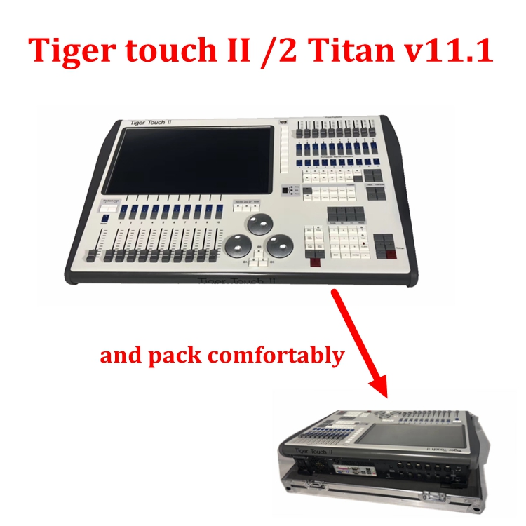 tiger touch dmx controller V11 Tiger Touch II 2 Lighting Console Tiger Touch dmx console with