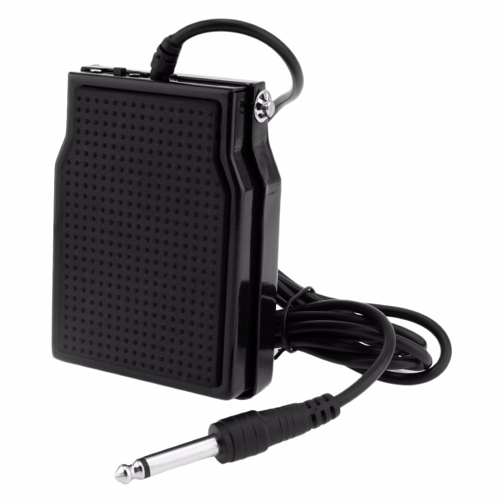 Meideal Black High Quality SP20 Professional Sustain Pedal For Synthesizers / Tone Modules / Drum Machines / Electronic Ke
