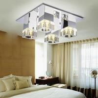 Led E27 Crystal Stainless Steel LED Lamp LED Light Ceiling Lights LED Ceiling Light Ceiling Lamp