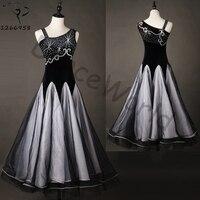 customized sexy modern ballroom dance dress dancing flamenco costumes tango waltz dress foxtrot for women