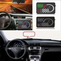 자동차 HUD 헤드 업 디스플레이 메르세데스 벤츠 W203 W204 W205 W210 W211 W212 자동차 전자 액세서리 디지털 HUD Virsual 디스플레이
