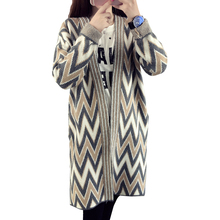 2016 Maternity Clothing Sweater Outerwear Coat Hydrowave Medium-Long Cardigan Outerwear New Pregnant Women Fashion Sweater MY37