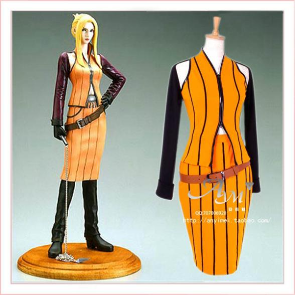 Final Fantasy 8 Quistis dress Cosplay Costume Tailor made[G719]