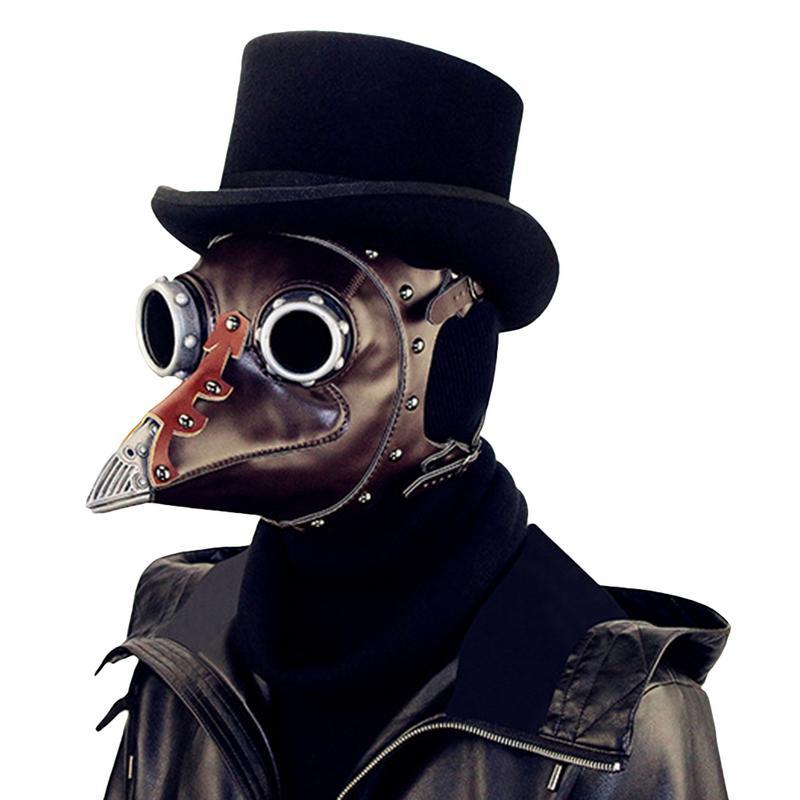 Vapeur Punk Halloween peste bec docteur masque Cosplay masque Halloween