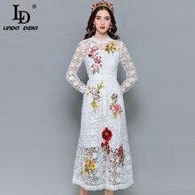 미디 드레스 가을 패션