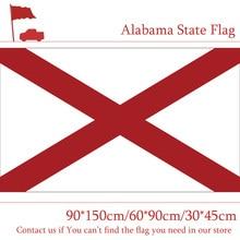 Free shipping 90*150cm 60*90cm Flag of Alabama State USA 30*45cm Car