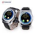 2016 Bluetooth Smartwatch Носимых Устройств Smart Watch Шагомер Камера Здоровья Круглый Для Android IOS ПК GT08 DZ09 GV18