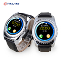 2016 Bluetooth Smartwatch Wearable Devices Smart Watch Pedometer Camera Health Round For Android IOS PK GT08 DZ09 GV18