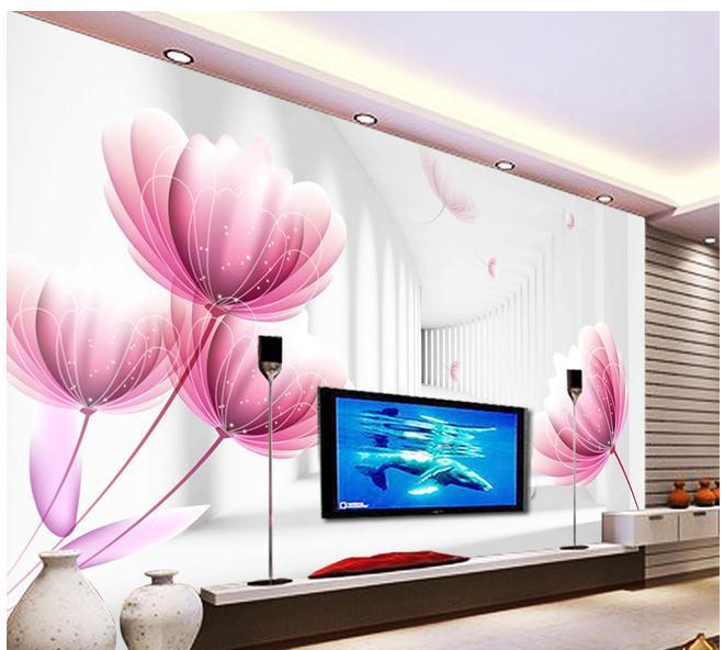 Large Flower Wall Murals Photo Part 98